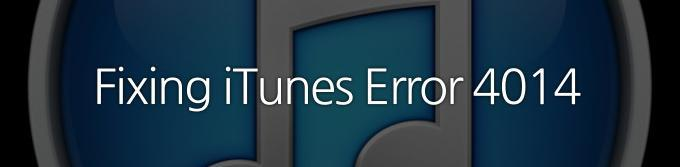 How to fix 4014, 3194 iTunes error?
