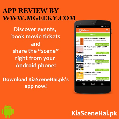 KIA SCENE HAI - ANDROID APP REVIEW