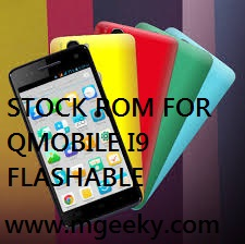Stock JellyBean CWM Flashable Stock Rom For QMobile I9