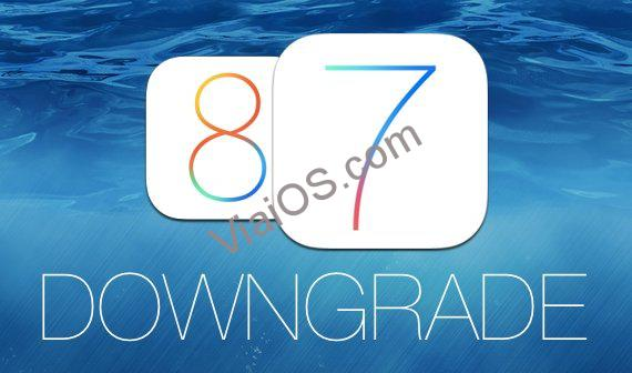 Downgrade from iOS 8 to iOS 7.1.2