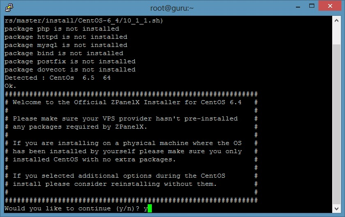 How to install Zpanel on centOS 6.x