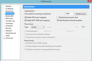 increase download speed on Utorrent