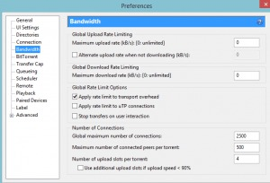 Increase download speed on torrent