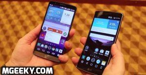 LG G flex 2 vs g3