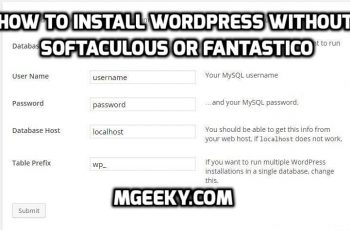 How to Install WordPress Manually Without Fantastico or Softaculous