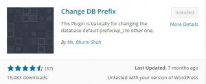 change wordpress database prefix wp_