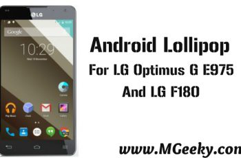 android lollipop for lg e975, f180