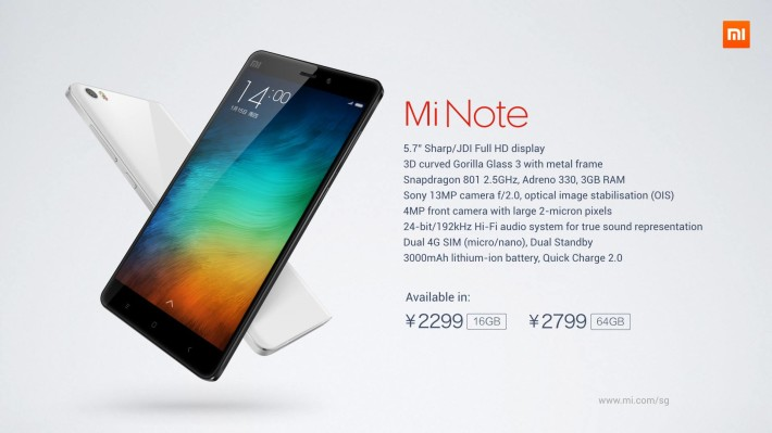 Xiaomi Mi Note Pro quick review