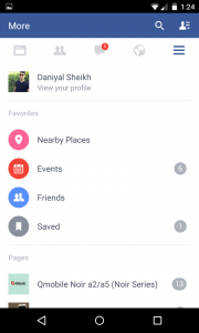 download facebook video using facebook android app