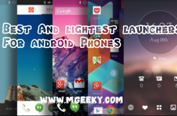 best top lightweight launchers for android phones