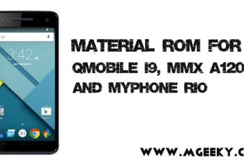material custom rom for i9, a120 and rio