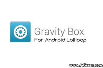 gravity box for android lollipop available