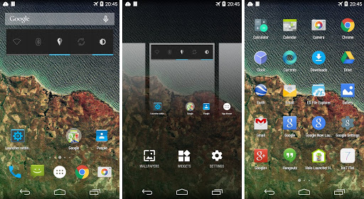 lightest launchers for android