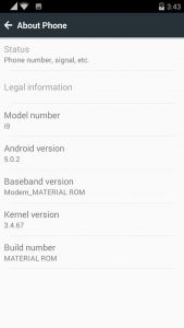 custom rom for qmobile i9