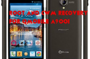 root and cwm recovery for qmobile a900i