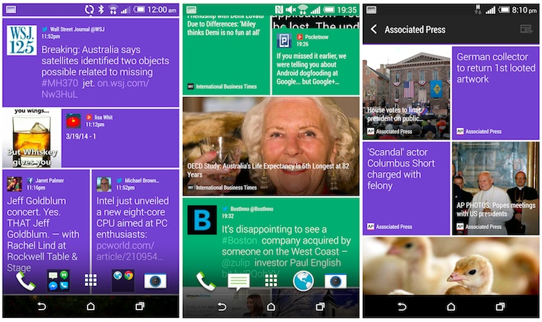 htc blinkfeed for all android phones