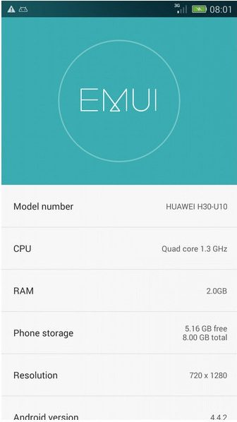 emui 3.0 for huawei honor 3c