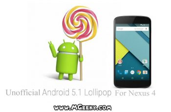 android 5.1 for nexus 4
