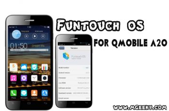 funtouch os custom rom for qmobile a20