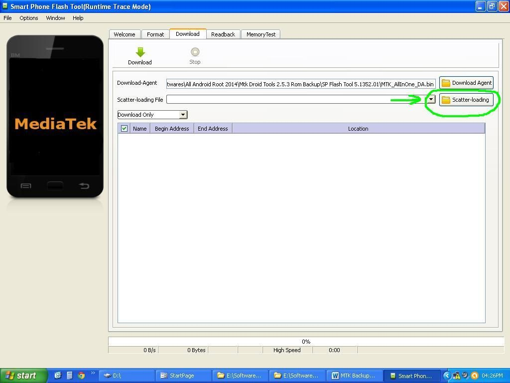 how to flash stock rom on mediatek smartphones