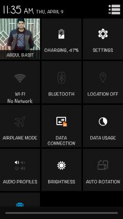 Stock ROM screenshots of A290