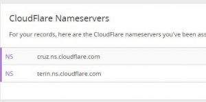 add a custom domain to blogger cloudflare