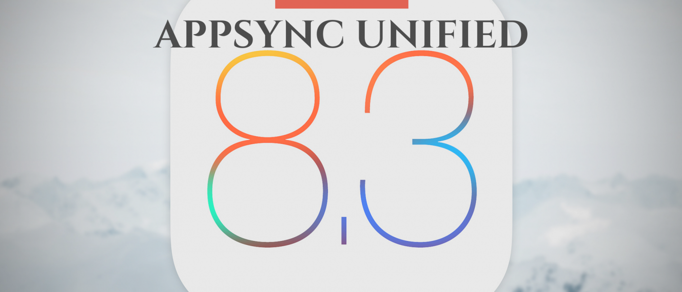AppSync for iOS 8.3