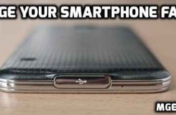 Charge your smartphone faster