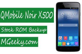 QMobile-X500-Stock-ROM-Backup