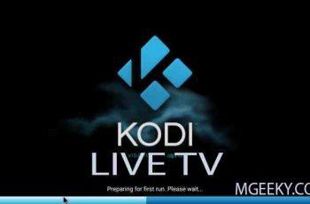 Watch Live TV on Kodi PVR M3U Streaming