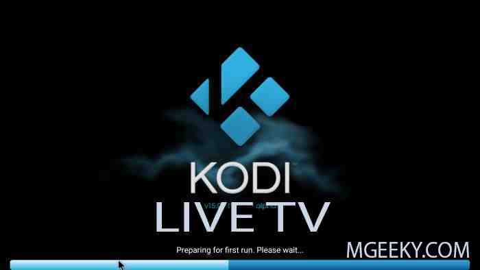 Watch Live TV on Kodi PVR M3U Streaming