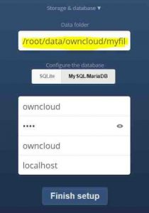 Install owncloud manually in centOS 7
