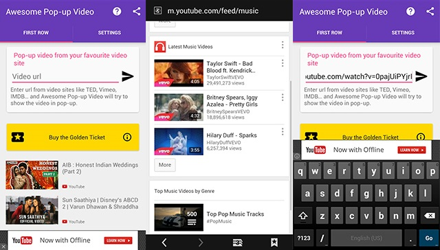 how to play videos in pop-up window on android without rooting