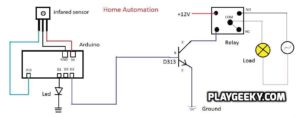 Home Automation with Arduino using IR-remote