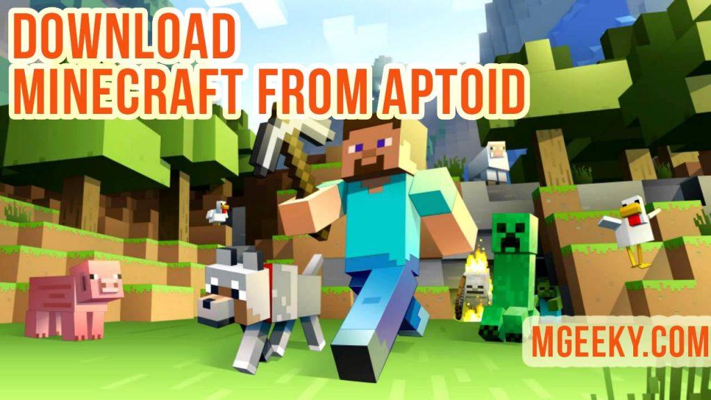 download minecraft pe aptoide free